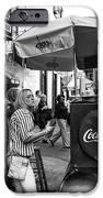 Break Time On Bourbon Street Mono IPhone Case by John Rizzuto