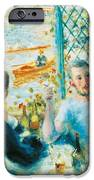 Breakfast By The River IPhone Case by Pierre-Auguste Renoir
