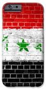 Brick Wall Iraq IPhone Case by Antony McAulay