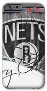 Brooklyn Nets IPhone Case by Joe Hamilton