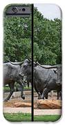 Bull Market Quadriptych IPhone Case by Christine Till