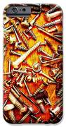 Bunch Of Screws 4 - Digital Effect IPhone Case by Debbie Portwood