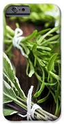 Bunches Of Fresh Herbs IPhone Case by Elena Elisseeva