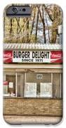 Burger Delight IPhone Case by Scott Pellegrin