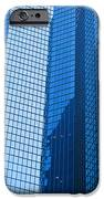 Business Skyscrapers Modern Architecture In Blue Tint IPhone Case by Michal Bednarek
