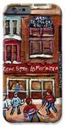 Cafe Bistro La Marinara IPhone Case by Carole Spandau