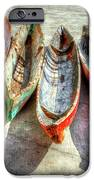 Canoes IPhone Case by Debra and Dave Vanderlaan