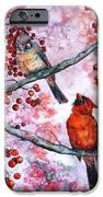 Cardinals  IPhone Case by Zaira Dzhaubaeva