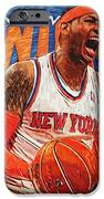 Carmelo Anthony IPhone Case by Taylan Soyturk