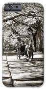 Carriage Ride In Charleston IPhone Case by John Rizzuto