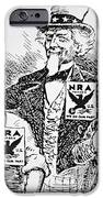 Cartoon Depicting The Impact Of Franklin D Roosevelt  IPhone Case by American School