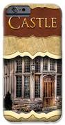 Castle Button IPhone Case by Mike Savad