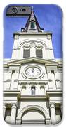 Cathedral-basilica Of St. Louis King Of France IPhone Case by Paul Velgos