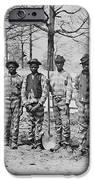 Chain Gang C. 1885 IPhone Case by Daniel Hagerman