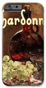 Chardonnay Vintage Advertisement IPhone Case by
