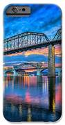 Chattanooga Sunset 3 IPhone Case by Steven Llorca