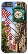 Chicago Macy's Clock And Chicago Theatre Sign IPhone Case by Paul Velgos