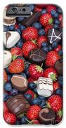 Chocolates And Strawberries IPhone Case by Tim Gainey