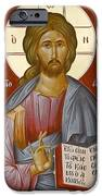 Christ The Light-giver IPhone Case by Julia Bridget Hayes