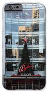 Christmas At San Francisco Macy's Department Store - 5d20550 IPhone Case by Wingsdomain Art and Photography