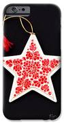 Christmas Star IPhone Case by Anne Gilbert