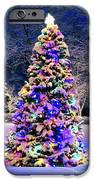 Christmas Tree In Snow IPhone Case by Elena Elisseeva