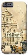 Church Of St Peter And Paul In Krakow IPhone Case by Stanislawa Kossaka