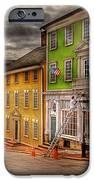 City - Providence Ri - Thomas Street IPhone Case by Mike Savad