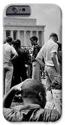 Civil Rights Occupiers IPhone Case by Benjamin Yeager