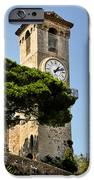 Clock Tower - Cannes - France IPhone Case by Christine Till