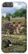 Cobble Walk Cottage IPhone Case by Dominic Davison