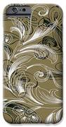 Coffee Flowers 4 Olive IPhone Case by Angelina Vick