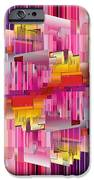 Cognitive Dissonance 4 IPhone Case by Angelina Vick