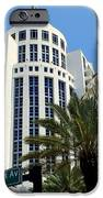 Collins Ave IPhone Case by Karen Wiles