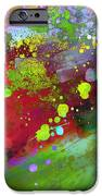 Color Explosion Abstract Art IPhone Case by Ann Powell
