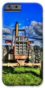 Coming Out Of A Heavy Action Tractor IPhone Case by Eti Reid