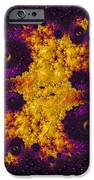 Complimentary - Yellow And Purple IPhone Case by Heidi Smith