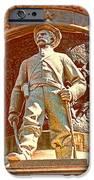 Confederate Soldier Statue I Alabama State Capitol IPhone Case by Lesa Fine