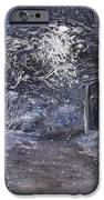 Country Road On A Wintery Night IPhone Case by Jack Skinner