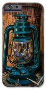 Cowboy Themed Wood Barrels And Lantern IPhone Case by Paul Ward