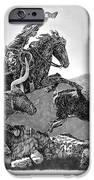 Cowboys And Longhorns IPhone Case by Jack Pumphrey