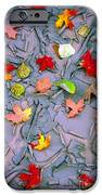 Cracked Mud And Leaves IPhone Case by Inge Johnsson