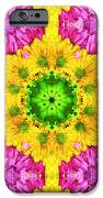 Crazy Daises - Spring Flowers - Bouquet - Gerber Daisy Wanna Be - Kaleidoscope 1 IPhone Case by Andee Design