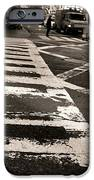 Crosswalk In New York City IPhone Case by Dan Sproul