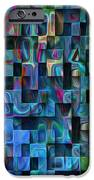 Cubed 3 IPhone Case by Jack Zulli