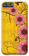 Daisies Design - S01y IPhone Case by Variance Collections