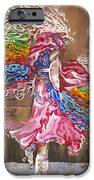 Dance Through The Color Of Life IPhone Case by Karina Llergo