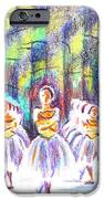 Dancers In The Forest IPhone Case by Kip DeVore