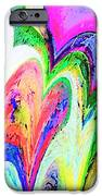 Dancing Hearts  IPhone Case by Annie Zeno