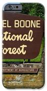 Daniel Boone IPhone Case by Frozen in Time Fine Art Photography